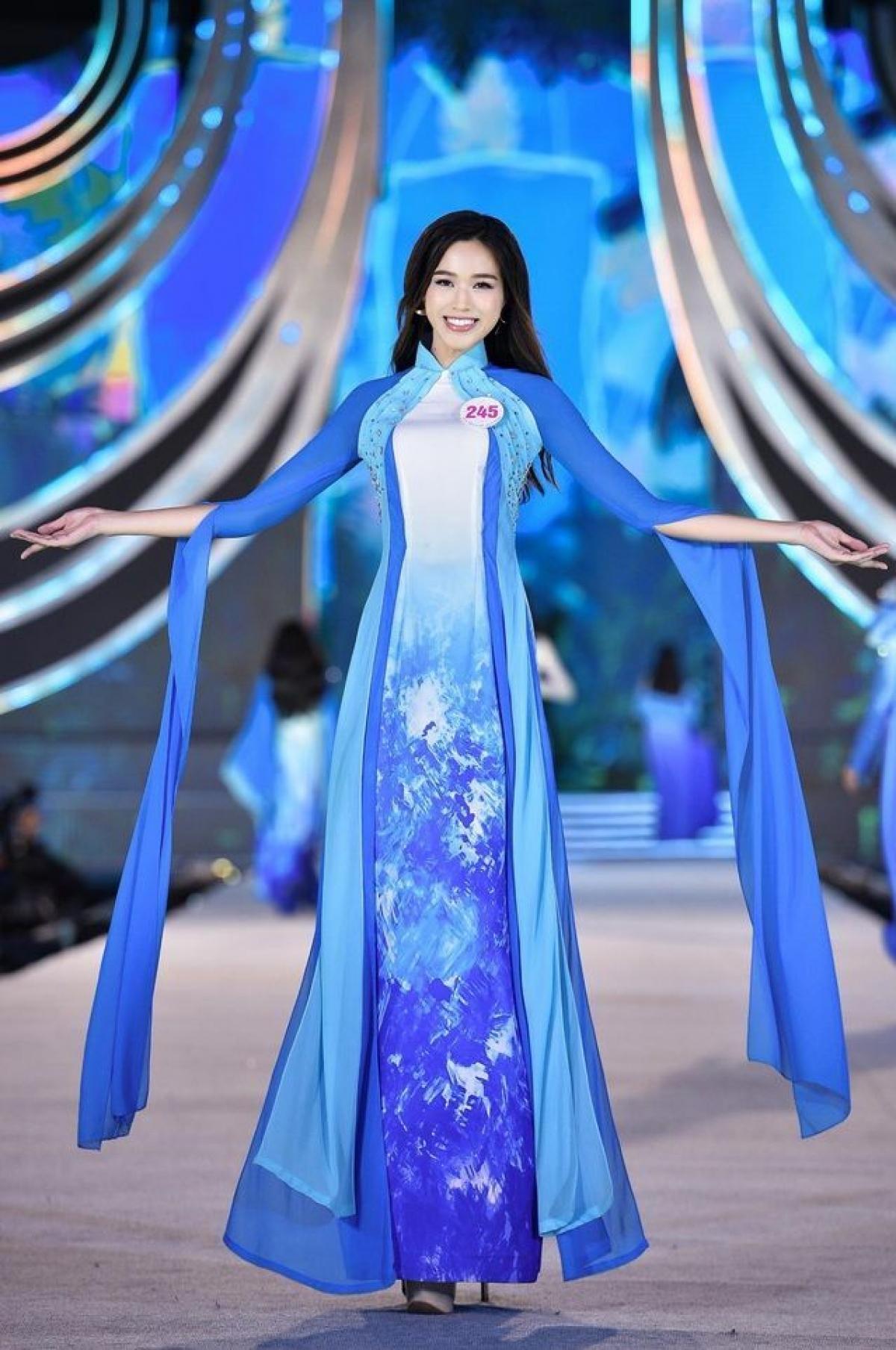 Trước khi đến với Hoa hậu Việt Nam 2020, Đỗ Thị Hà đã từng vào top 40 Hoa khôi Sinh viên Việt Nam.