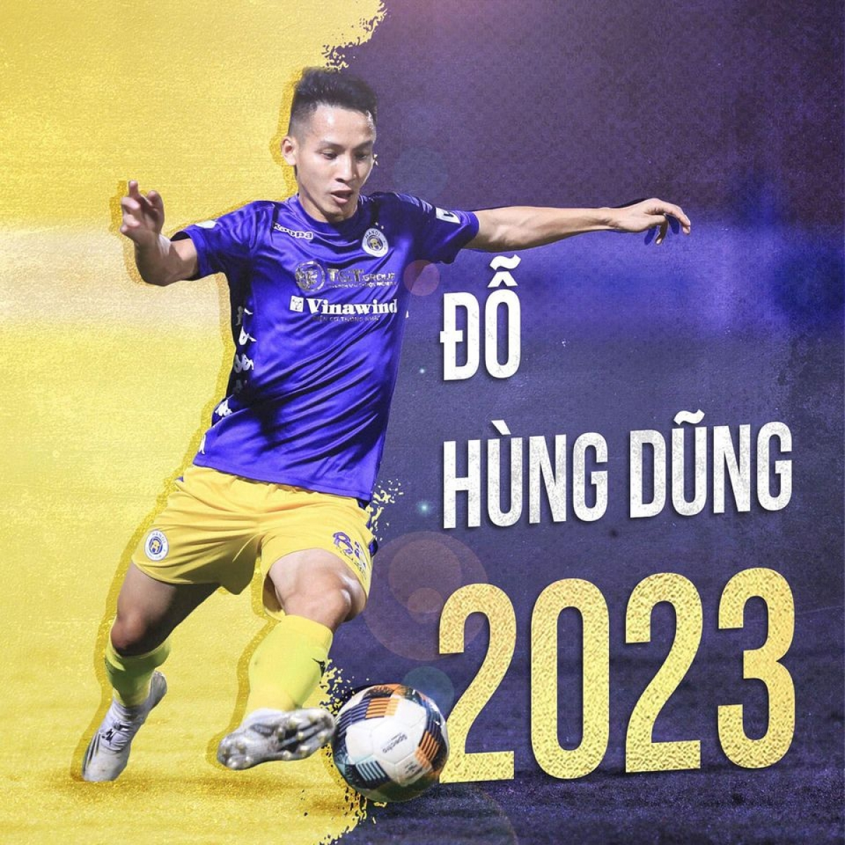 Hà Nội FC trói chân thành công Hùng Dũng.