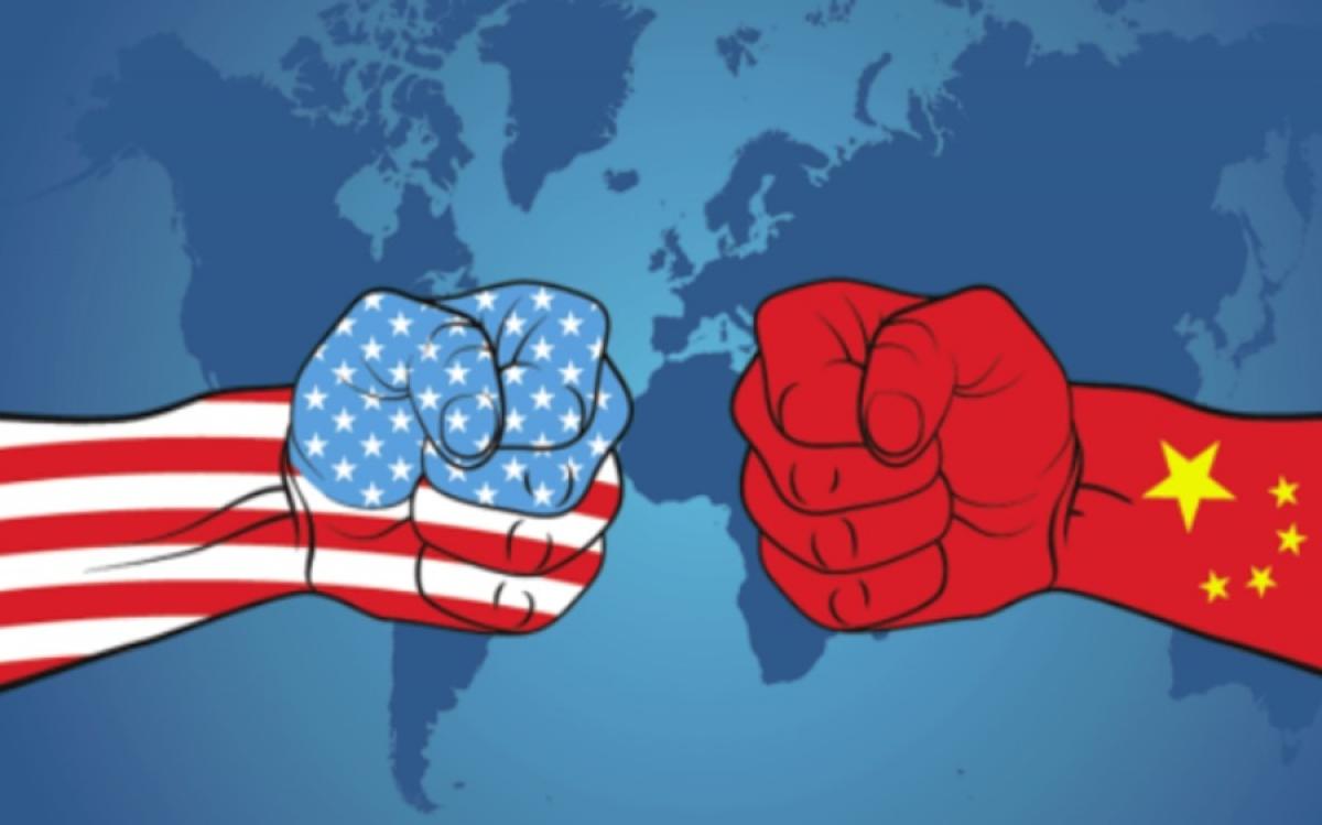 Hình ảnh minh họa về đối đầu Mỹ-Trung Quốc. Đồ họa: Challenge Advisory.