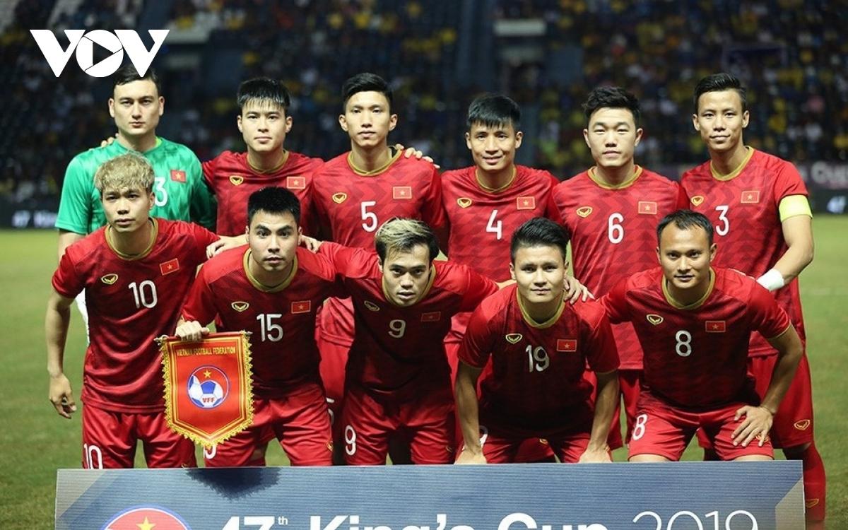 ĐT Việt Nam thăng hạng trên BXH FIFA tháng 11/2020.