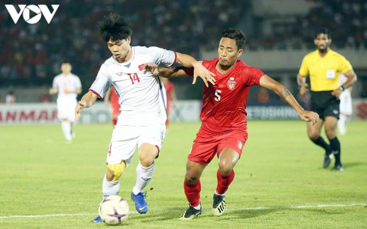ĐT Việt Nam bị Myanmar cầm hòa 0-0 ngày này 2 năm trước do tình huống sai sót của trọng tài.