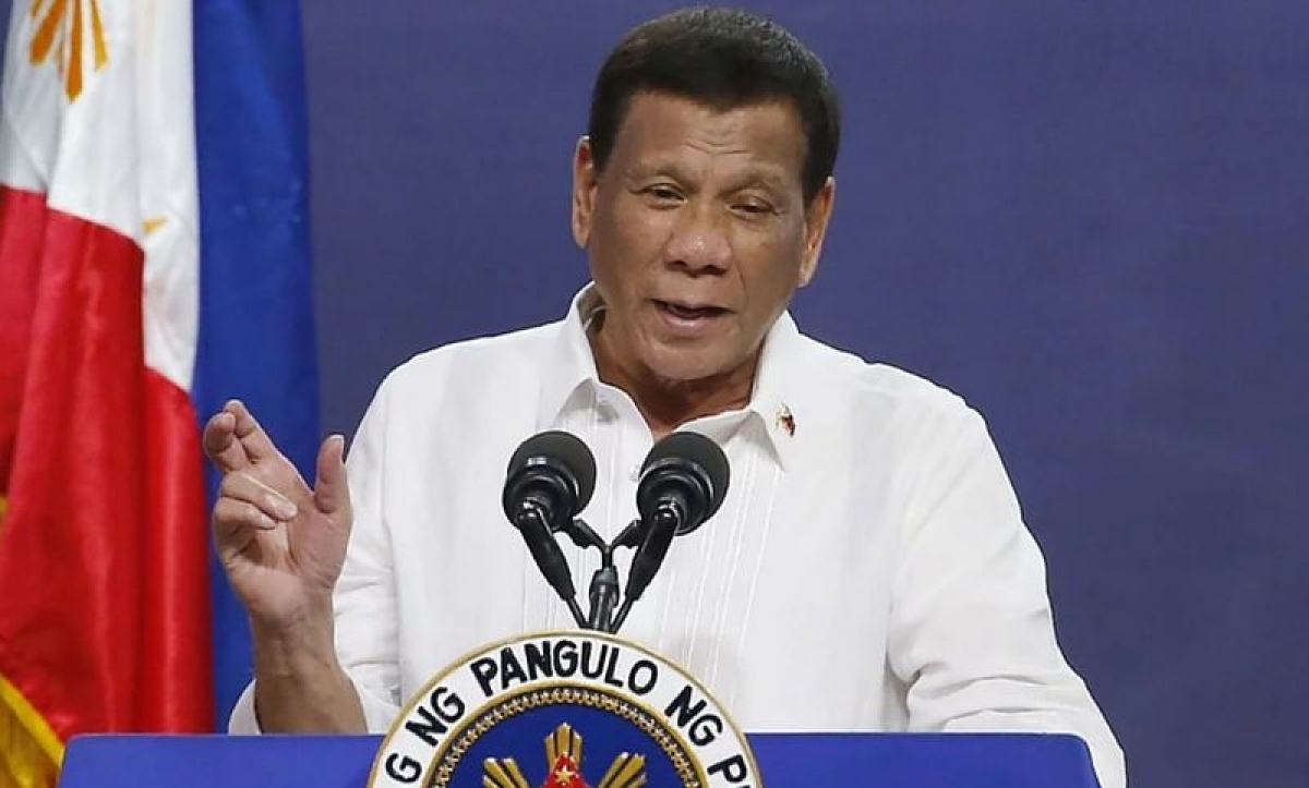 Tổng thống Philippines Rodrigo Duterte. Ảnh:Ayosemarang.com