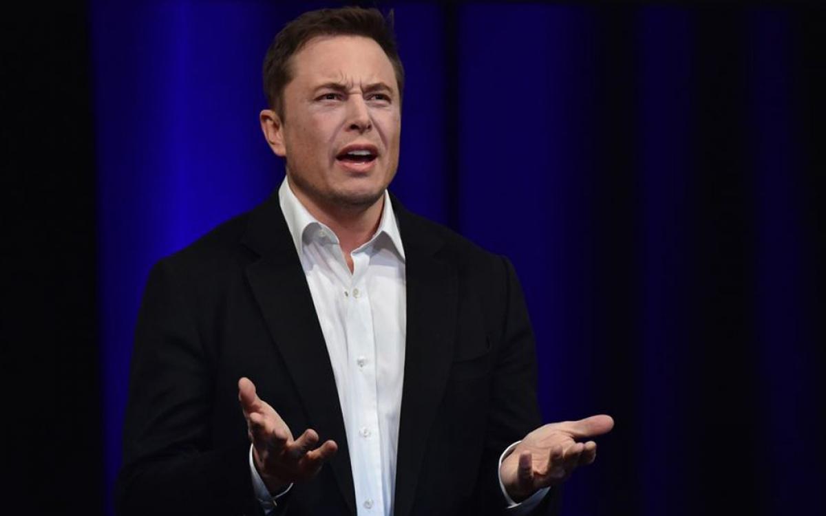 Tài sản của tỷ phú Elon Musk cộng thêm đáng kể nhờ cổ phiếu Tesla tăng giá. (Ảnh: Bloomberg)