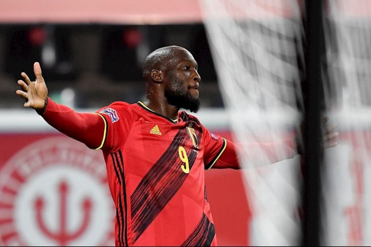 Lukaku lập công lớn đưa ĐT Bỉ vào bán kết Nations League. (Ảnh: Getty).