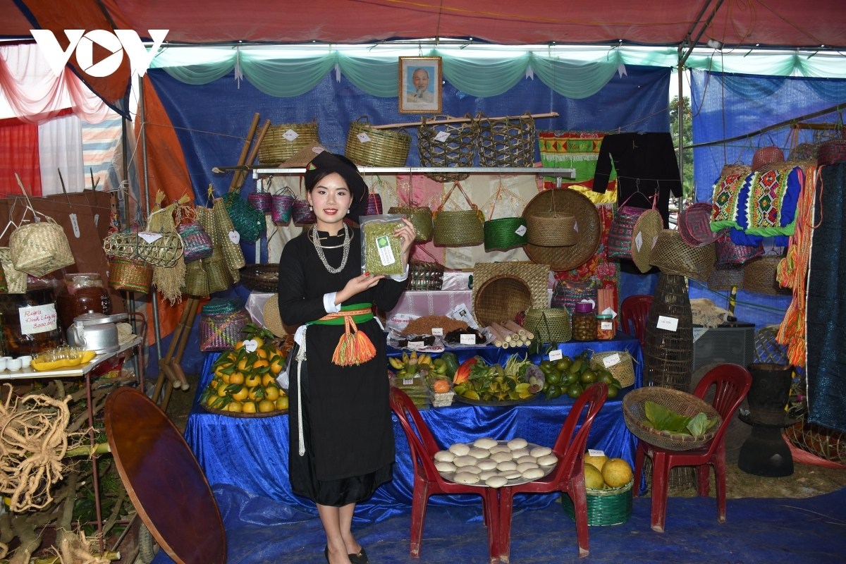 A range of local specialties are featured at the fair which is held during the festival.