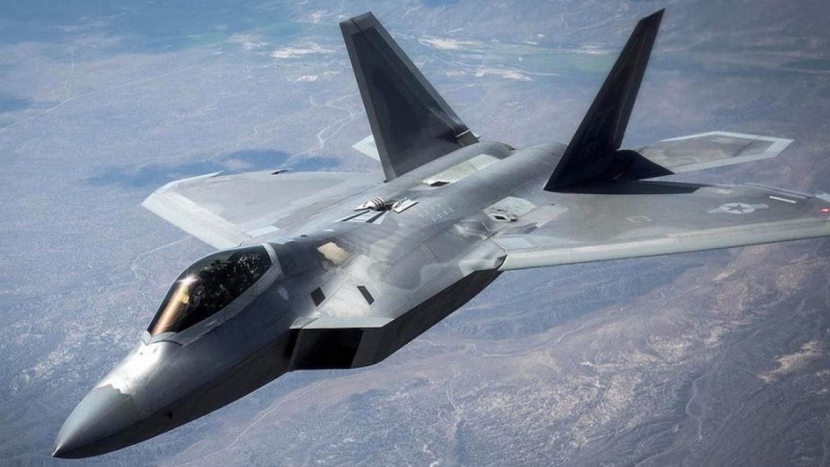 F-22 Raptor. Ảnh: Wiki