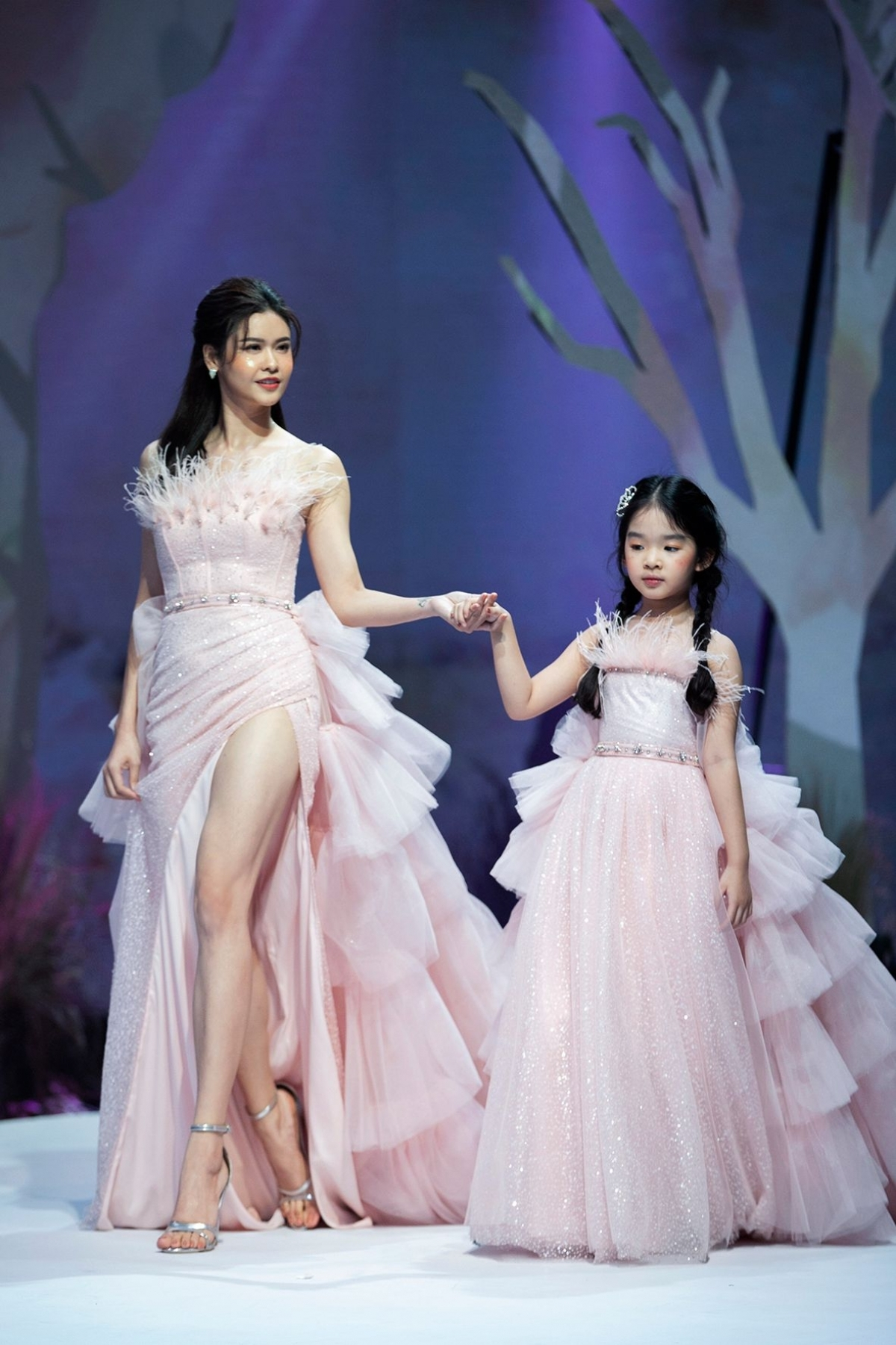 """The """"Magic Dreams"""" collection by fashion brand Joli Doll is shown at the event."""