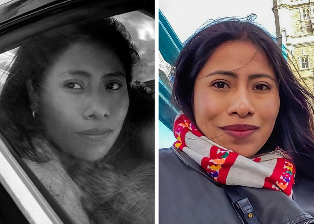 Yalitza Aparicio nổi tiếng sau bộ phim Roma (2018) trên Netflix và được đề cử giải Oscar. Nữ diễn viên người Mexico cũng được tạp chí Time đưa tên vào top 10 diễn xuất tốt nhất năm 2018. Cô cũng lọt vào danh sách 100 phụ nữ có ảnh hưởng nhất thế giới năm 2019 của BBC vì nỗ lực thúc đẩy bình đẳng giới và đóng góp cho cộng đồng.