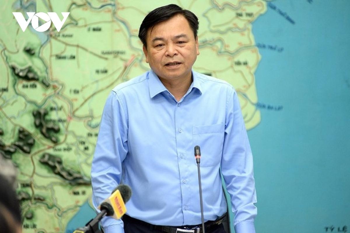 Thứ trưởng Bộ NN&PTNT - Nguyễn Hoàng Hiệp - Phó Trưởng ban Chỉ đạo TƯ về PCTT