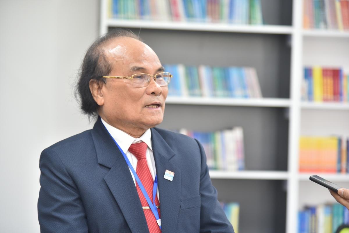 GS Đinh Quang Báo, nguyên Hiệu trưởng ĐH Sư phạm Hà Nội.