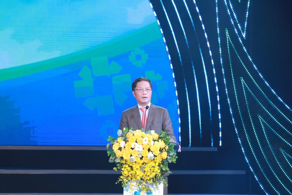 Bộ trưởng Bộ Công Thương Trần Tuấn Anh phát biểu tại lễ trao giải.
