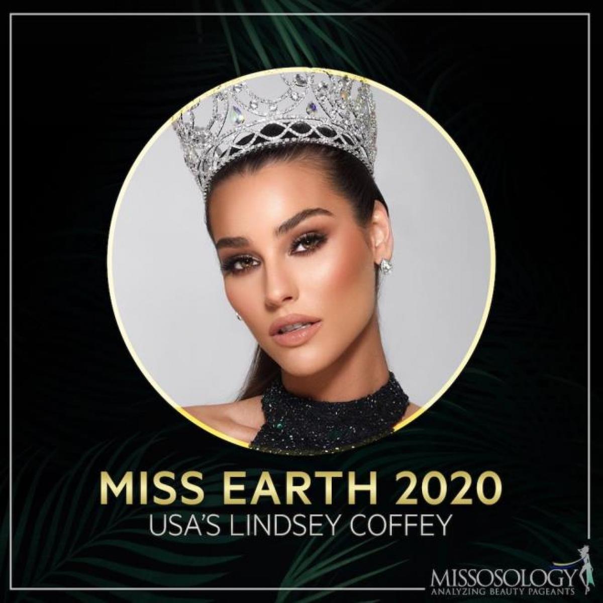 Tân Hoa hậu Trái đất 2020 Lindsey Coffey