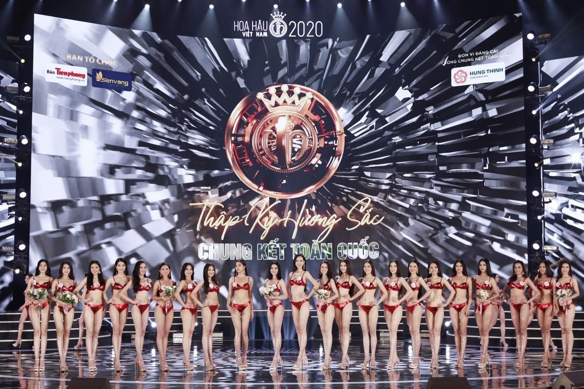 Điểm hấp dẫn của các vòng thi trong đêm chung kết cuộc thi Hoa hậu Việt Nam 2020 chính là ban giám khảo sẽ chọn lựa các thí sinh bước tiếp vào phần thi trình diễn với số lượng ít hơn qua từng vòng.