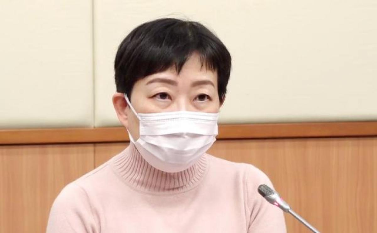 Bà Trương Trúc Quân, quan chức Sở Y tế Hong Kong. Ảnh: Nhật báo Bắc Kinh