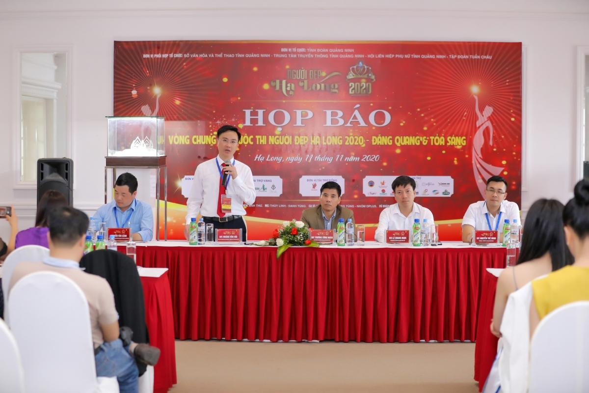 Chiều 11/11, tại TP Hạ Long, tỉnh Quảng Ninh đã diễn ra họp báo Vòng chung kết cuộc thi Người đẹp Hạ Long 2020.