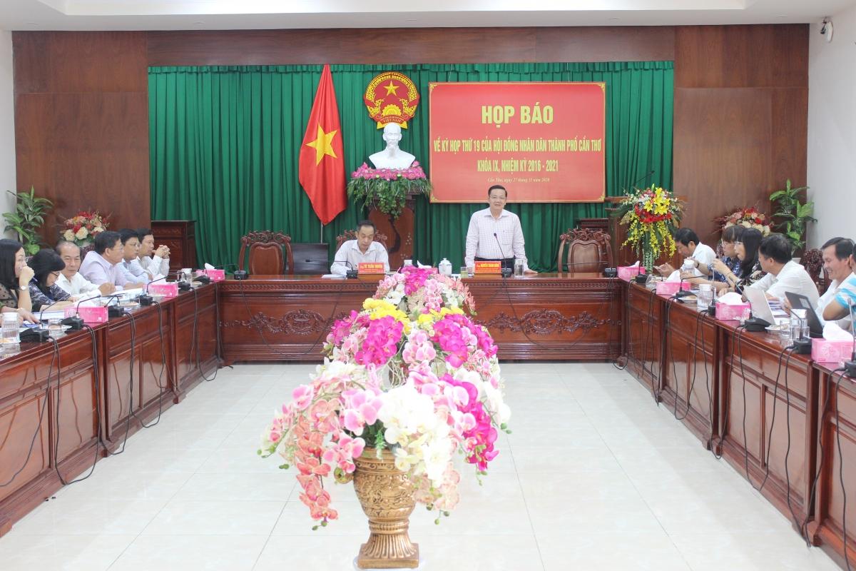 Kỳ họp thứ 19 HĐND thành phố Cần Thơ sẽ bầu Phó Chủ tịch thành phố.