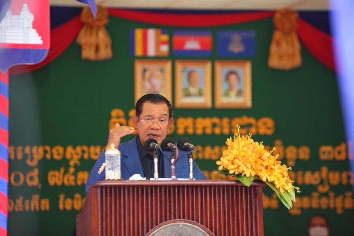 Thủ tướng Campuchia Samdech Techo Hun Sen. Ảnh: Fresh News