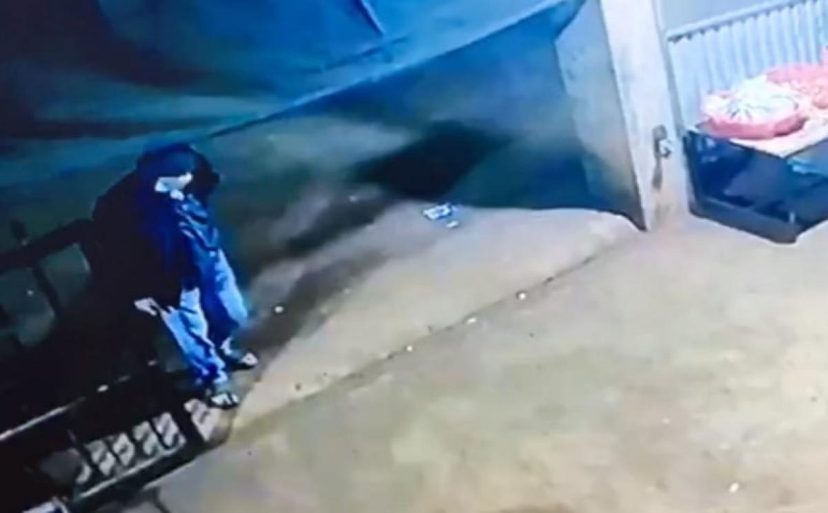 Camera ghi lại hình ảnh hung thủ