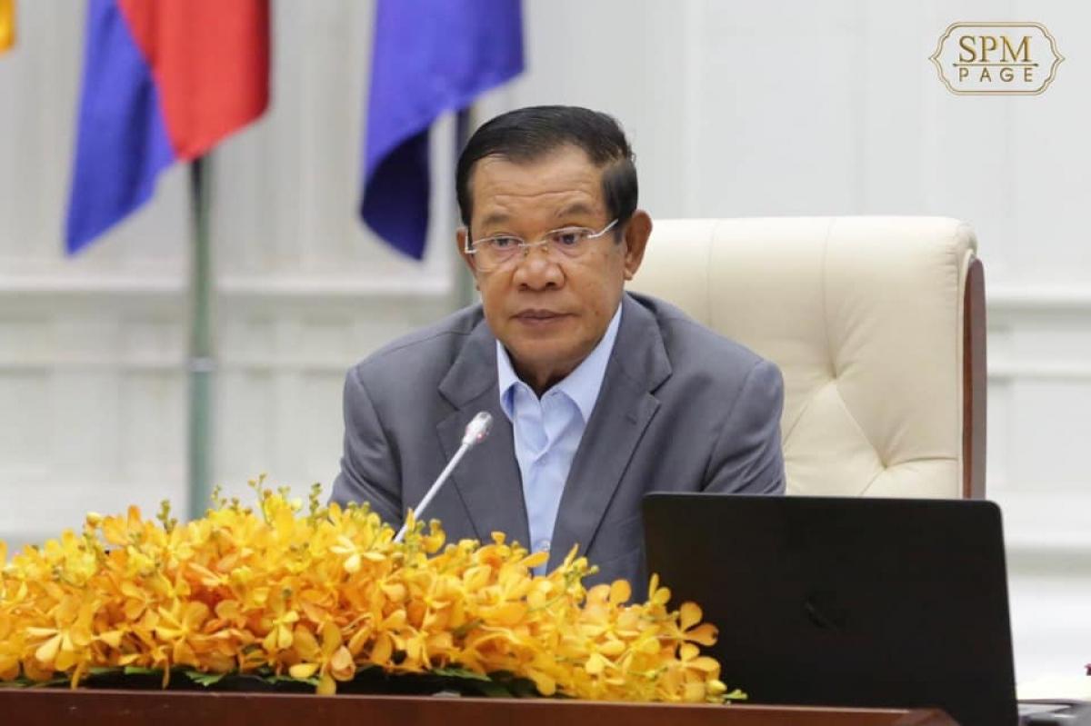 Thủ tướng Campuchia Hun Sen. Ảnh: Facebook nhân vật.