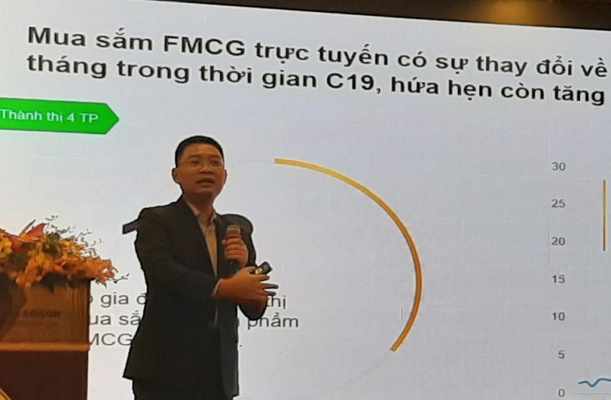 Ông Nguyễn Huy Hoàng, Giám đốc Thương mại, Công ty Nghiên cứu thị trường Kanta Worldpanel.