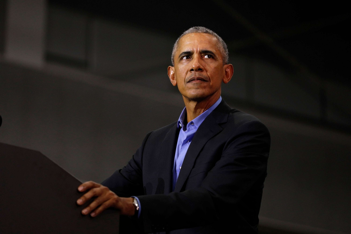 Cựu Tổng thống Barack Obama. Ảnh: Getty