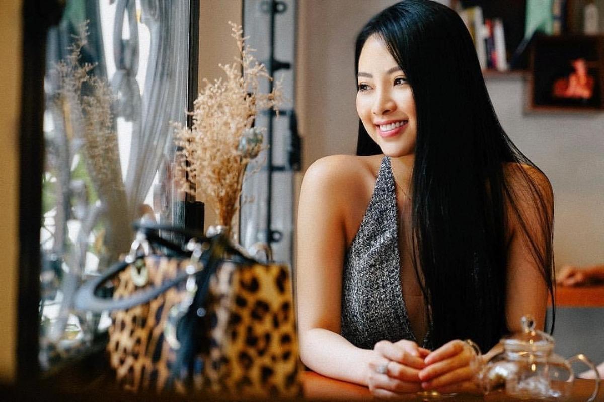 Hoa hậu Nguyễn Ngọc Anh.