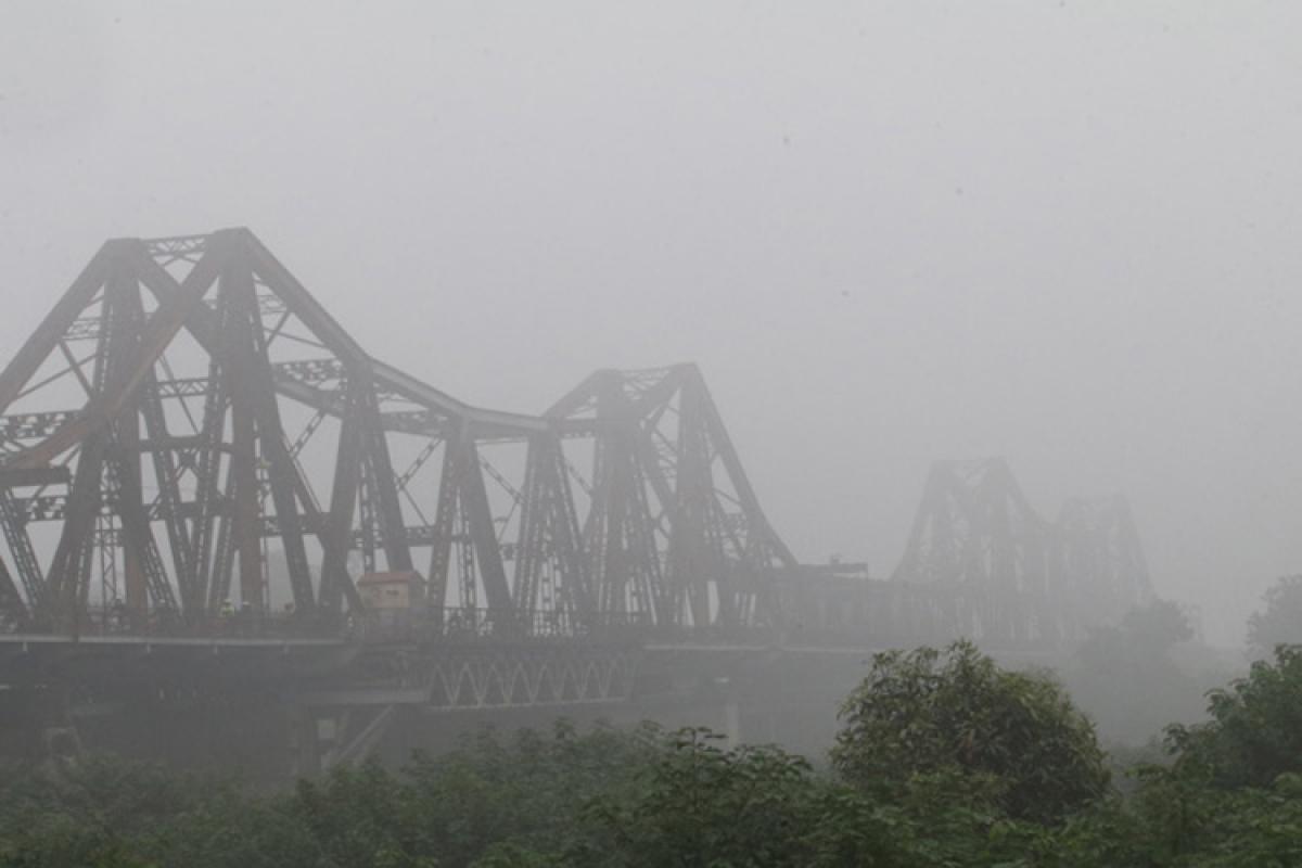 Khu vực Hà Nội, sáng sớm có nơi có sương mù. (Ảnh minh họa)