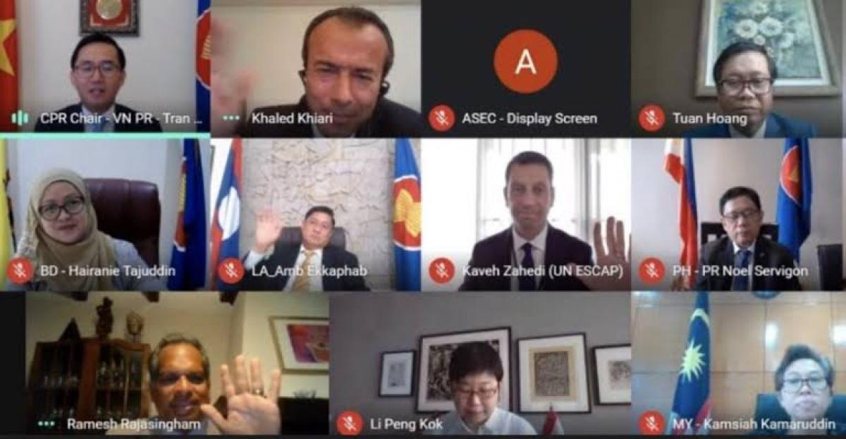 Cuộc họp giữa Uỷ ban các Đại diện thường trực tại ASEAN với Liên hợp quốc (LHQ) (tháng 9/2020)