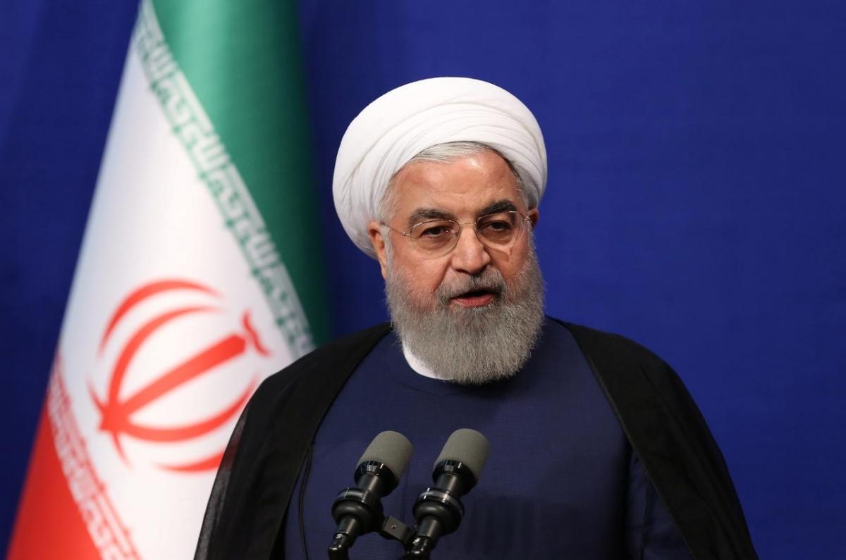 Tổng thống Iran Hassan Rouhani. Ảnh: Reuters.