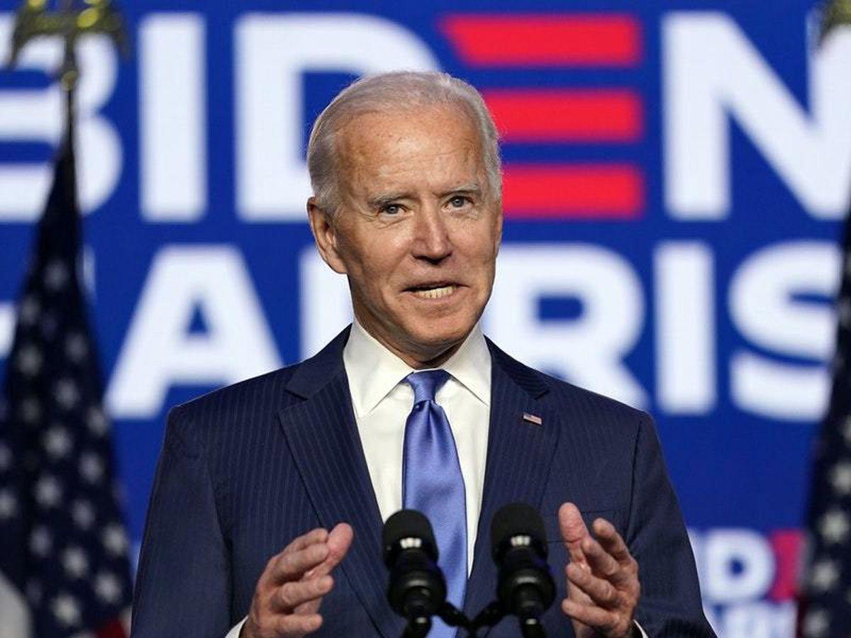 """Ngay từ khi bắt đầu cho tới khi kết thúc chiến dịch, Joe Biden tập trung vào việc xây dựng lại """"bức tường xanh"""", và điều này đã đem lại chiến thắng cho ông. Ảnh: NBC News"""