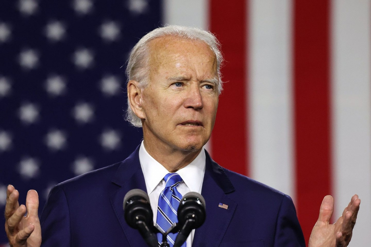 Ông Joe Biden. Ảnh: Boston Globe