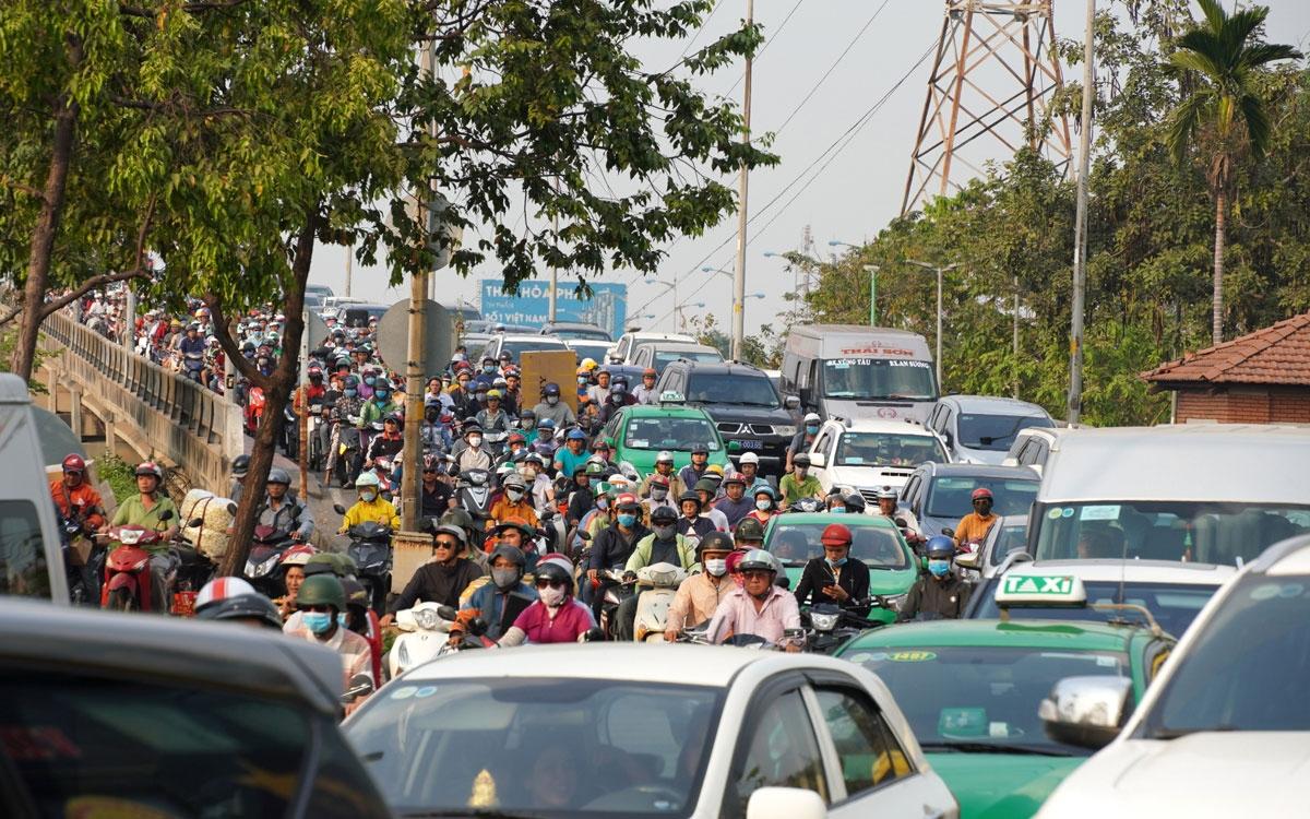 Đất dành cho giao thông tại TPHCM đang rất thấp.