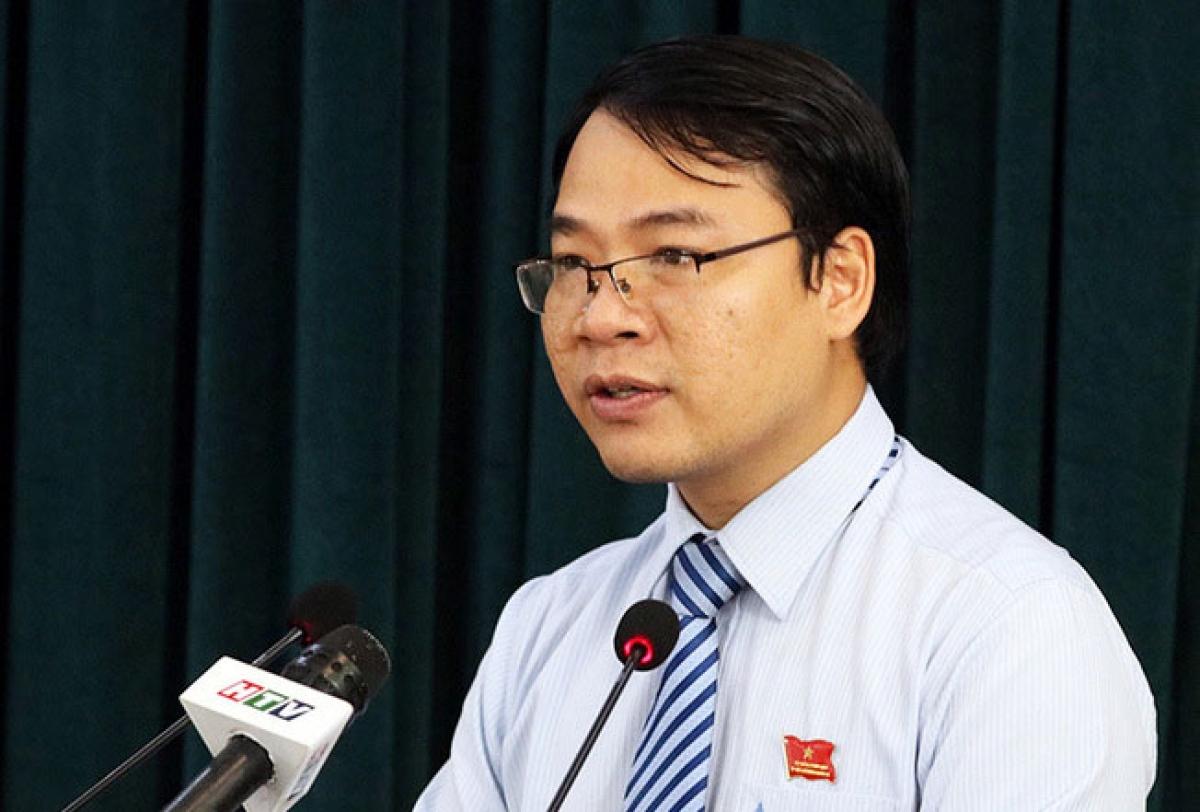 Ông Nguyễn Minh Nhựt - Phó Ban đô thị HĐND TP HCM.