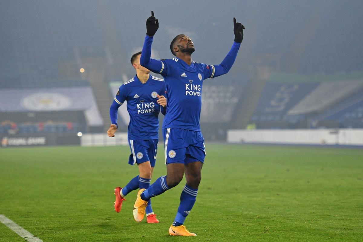 Leicester City giành chiến thắng 4 sao trước Braga (Ảnh: Getty).