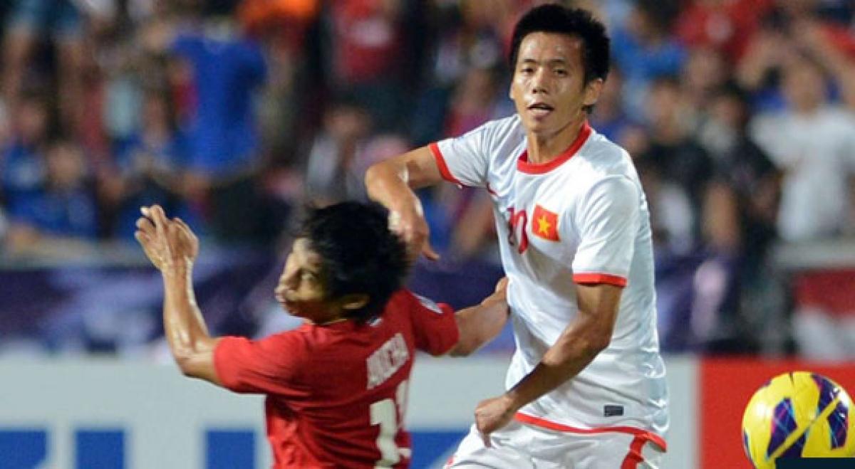 Văn Quyết trong trận đấu với Thái Lan cách đây 8 năm. (Ảnh: AFF).