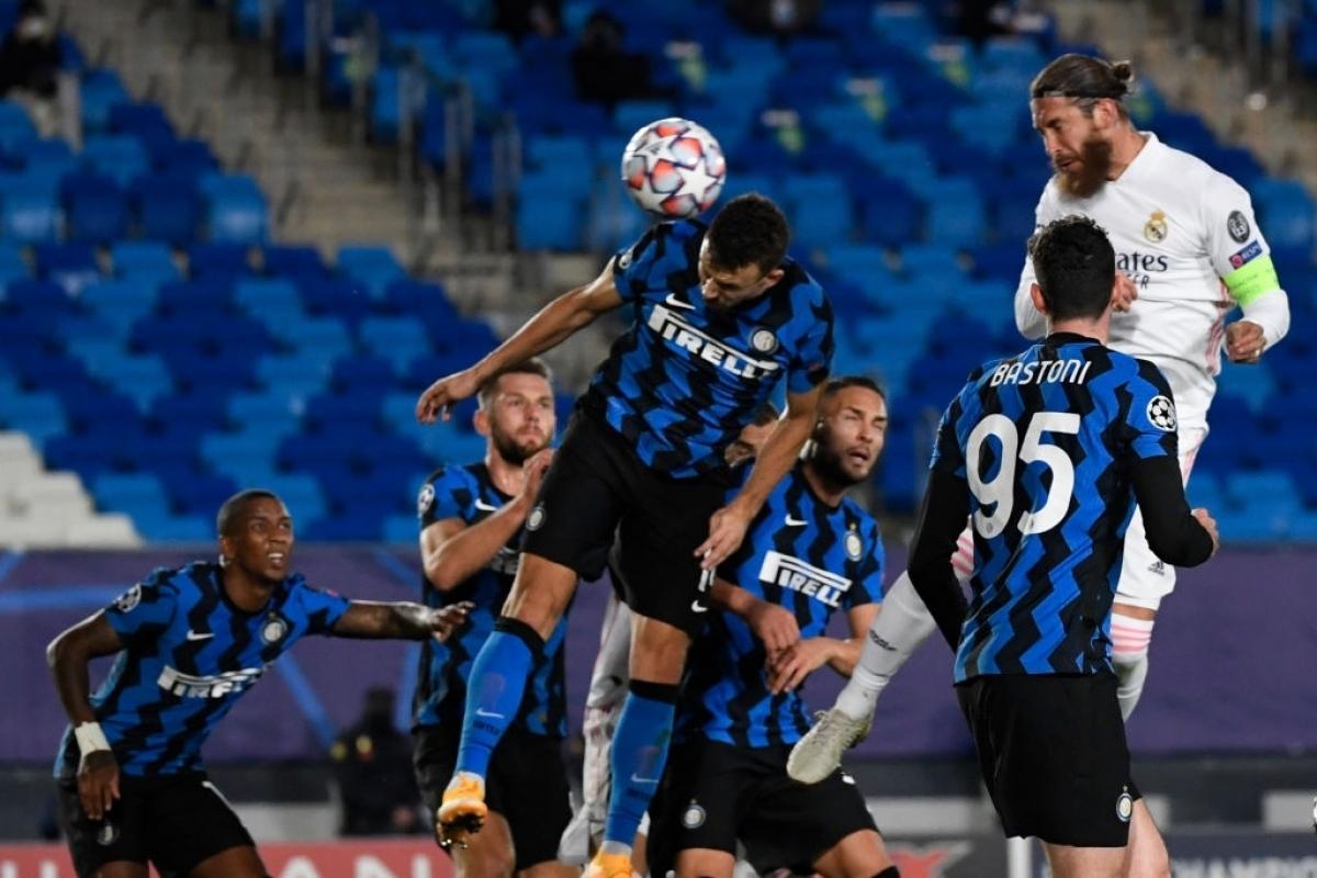 Inter Milan đại chiến Real Madrid ở lượt trận thứ 4 (Ảnh: Getty).