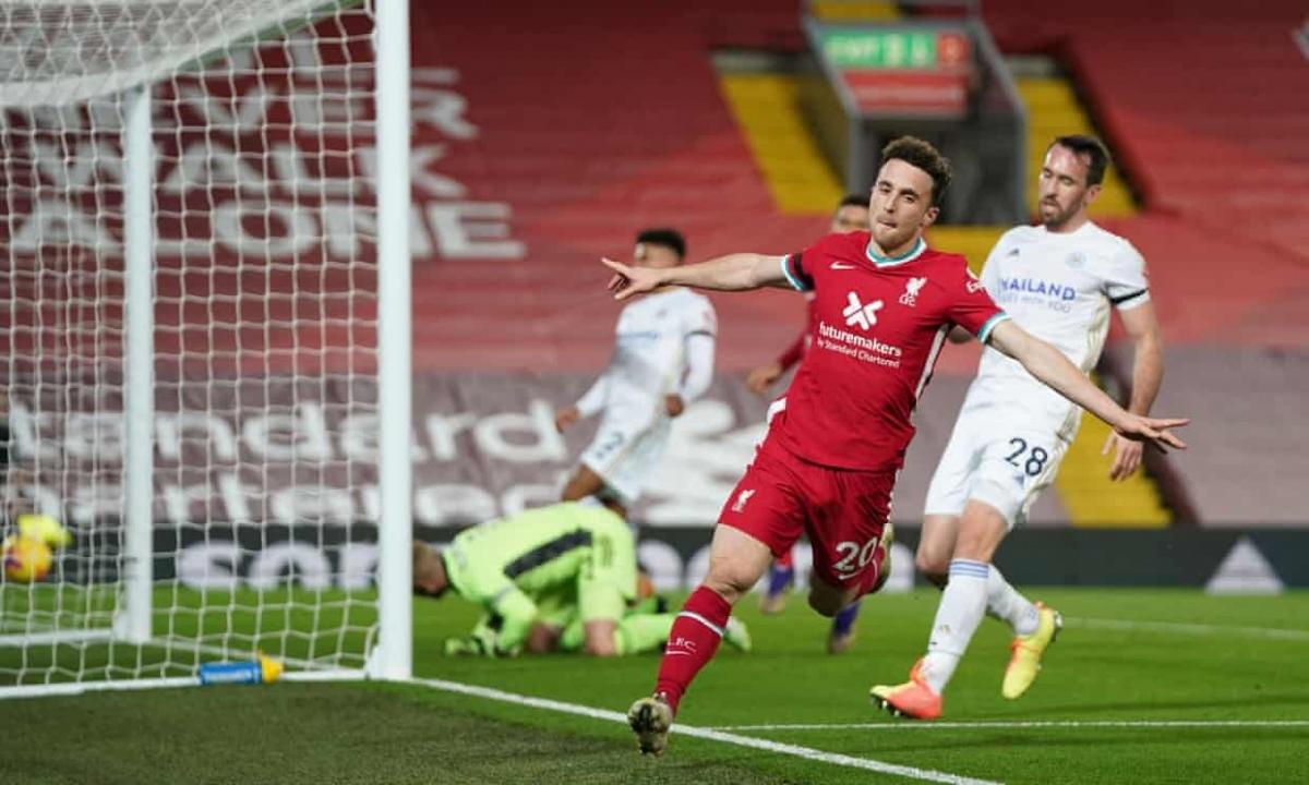 Liverpool giành chiến thắng đậm đà dù mất một nửa đội hình chính vì chấn thương và Covid-19. (Ảnh: Getty)