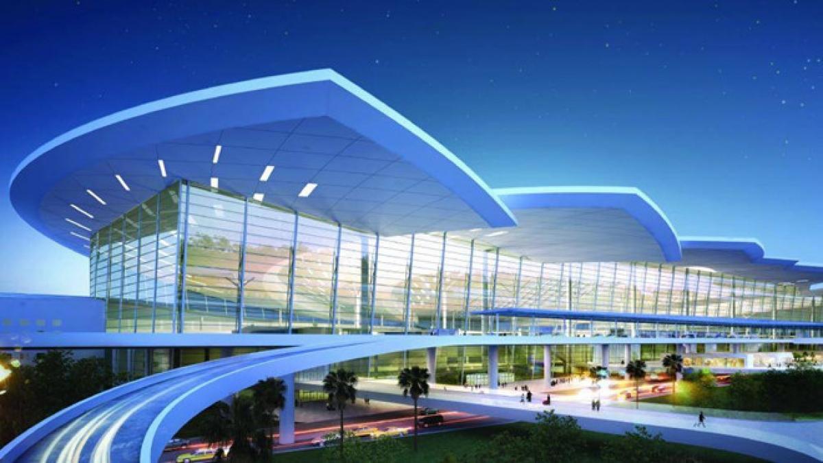 Nhà ga hành khách Cảng hàng không quốc tế Long Thành. Ảnh: Tổng công ty Cảng hàng không Việt Nam.