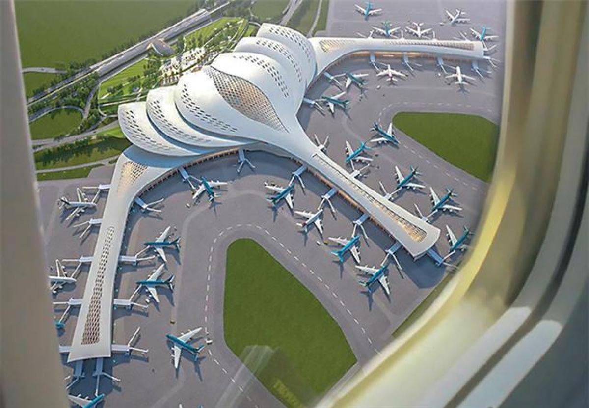 Phối cảnh Cảng hàng không quốc tế Long Thành. Ảnh: Tổng công ty Cảng hàng không Việt Nam.