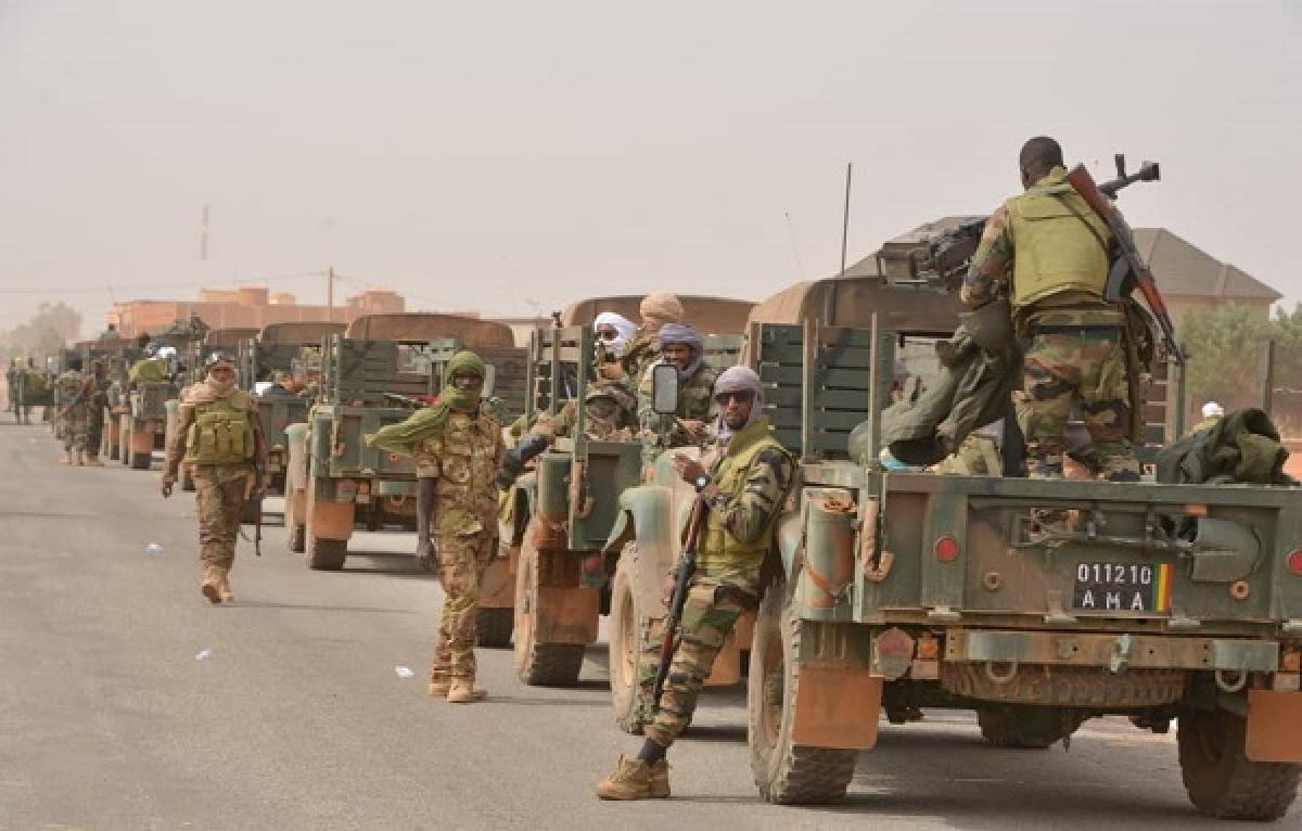Quân đội Mali (Ảnh: DIRPA)