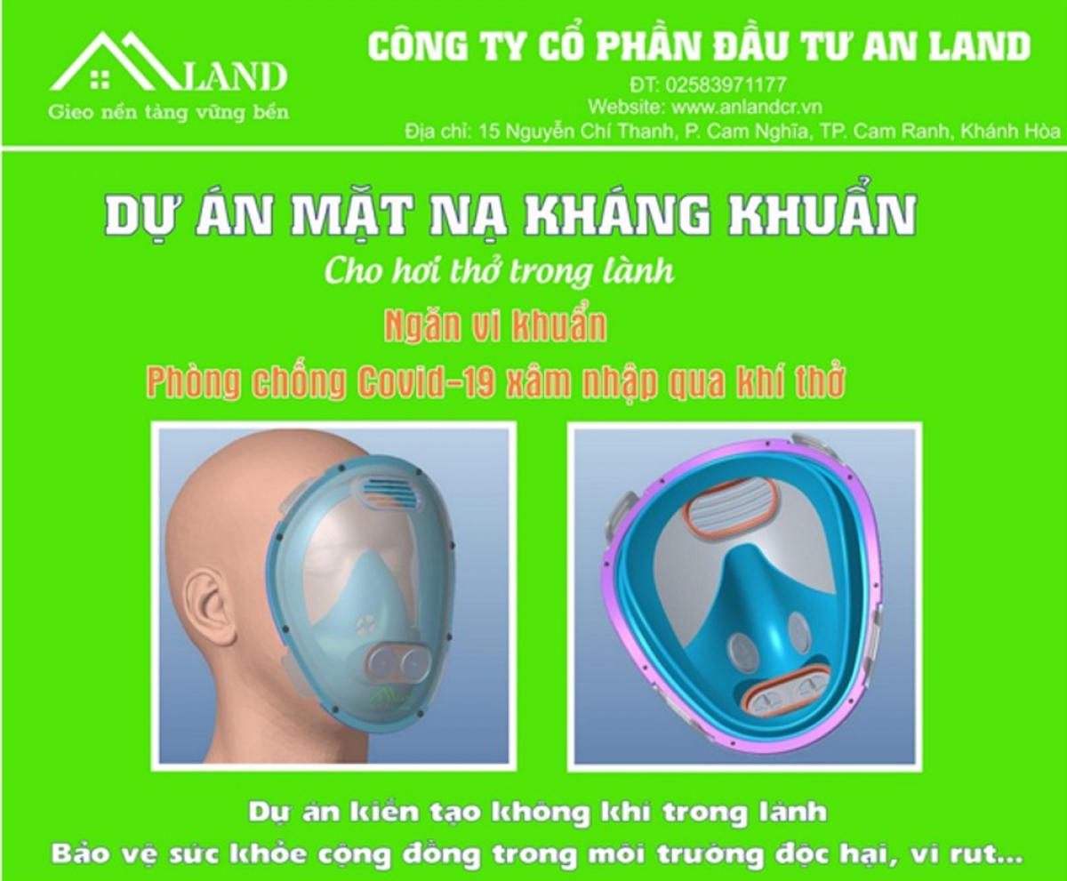 Mặt nạ kháng khuẩn An Land - sống khỏe và an toàn hơn