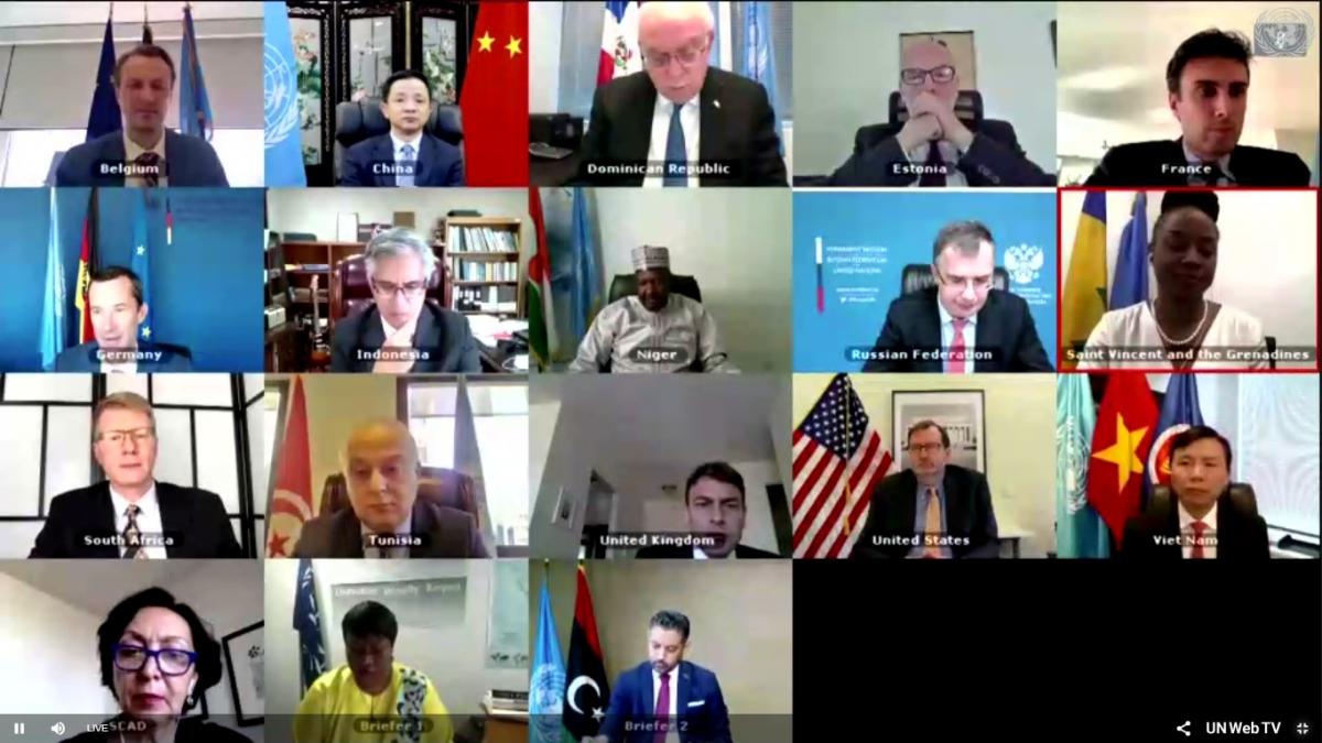 Hội đồng bảo an LHQ họp về tình hình ở Libya.