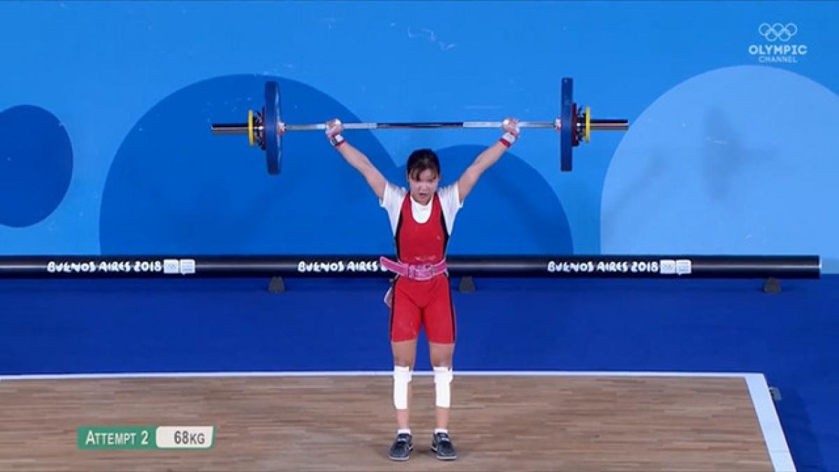Nguyễn Thị Thu Trang từng giành HCB Olympic trẻ 2018