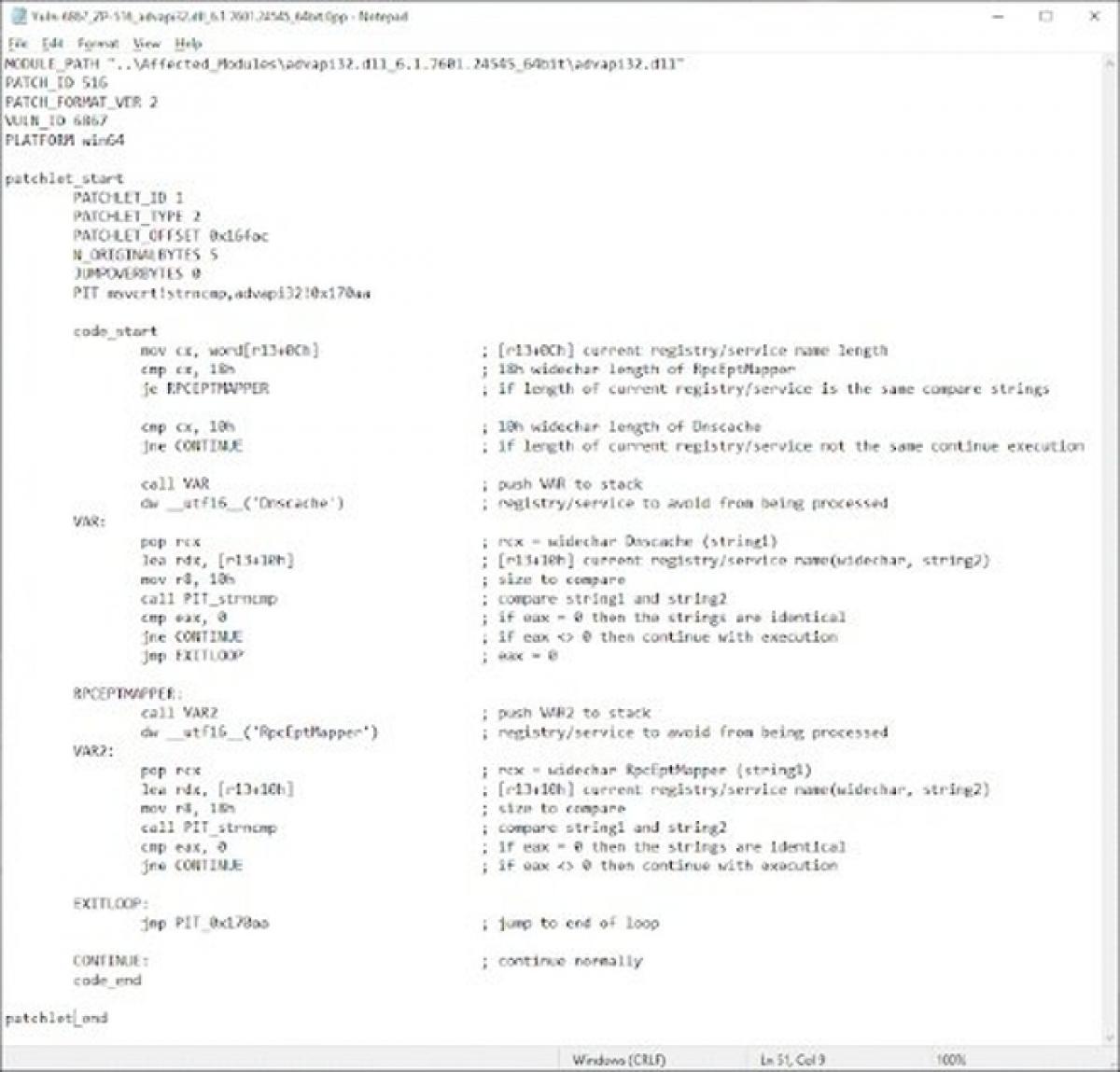 Lỗ hổng bảo mật nghiêm trọng tồn tại trên Windows 7 vừa được phát hiện - ẢNH CHỤP MÀN HÌNH