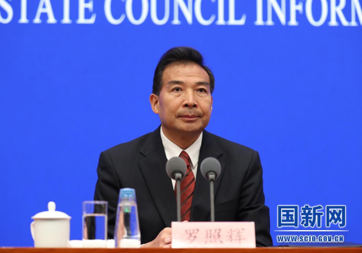 Ông La Chiếu Huy, Thứ trưởng Bộ Ngoại giao Trung Quốc. Ảnh: SCIO