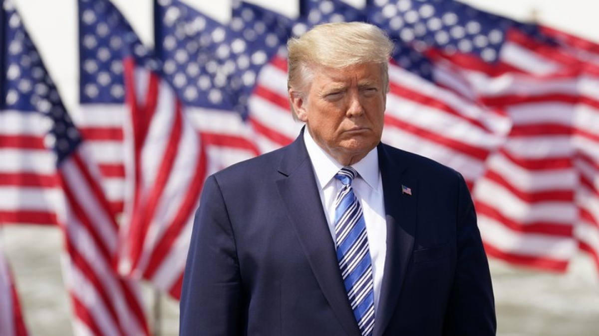 Tổng thống Donald Trump. Ảnh: Reuters