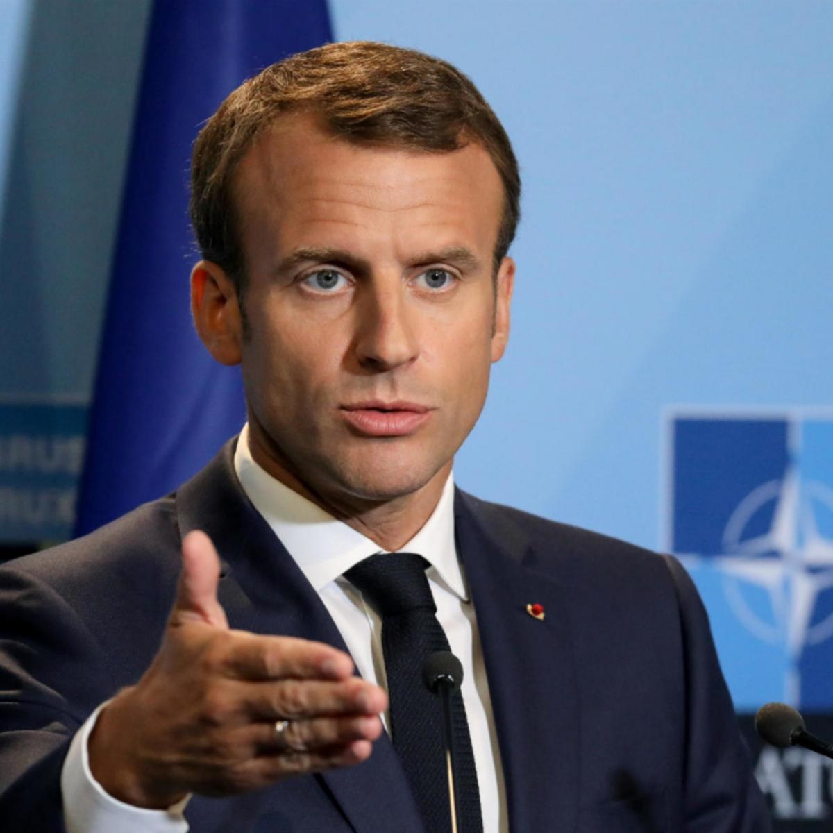 Tổng thống Pháp Emmanuel Macron. (Ảnh: Reuters)