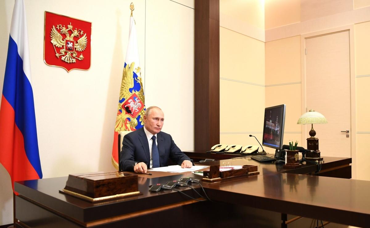 Tổng thống Nga Vladimir Putin. Ảnh: Kremlin.ru