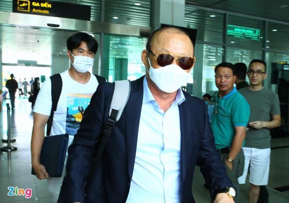 Ông Park sẽ vào TP.HCM để dự đám cưới của học trò. Ảnh: Quang Thịnh.