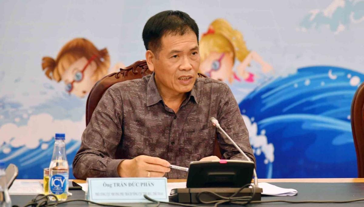 Ông Trần Đức Phấn - Phó Tổng cục trưởng Tổng cục Thể dục Thể thao.